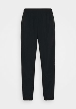 NOVELTY TRACK PANT UNISEX - Tracksuit bottoms - black/white