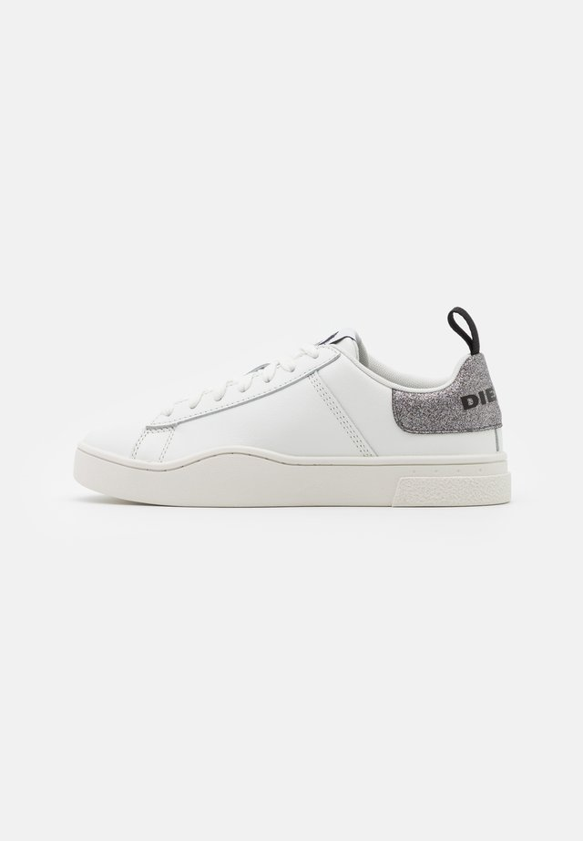 CLEVER S-CLEVER LOW LACE W - Trainers - white/silver