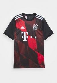 adidas Performance - FC BAYERN MUENCHEN FOOTBALL UNISEX - Club wear - black - 0