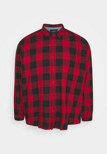 JJEGINGHAM - Shirt - brick red