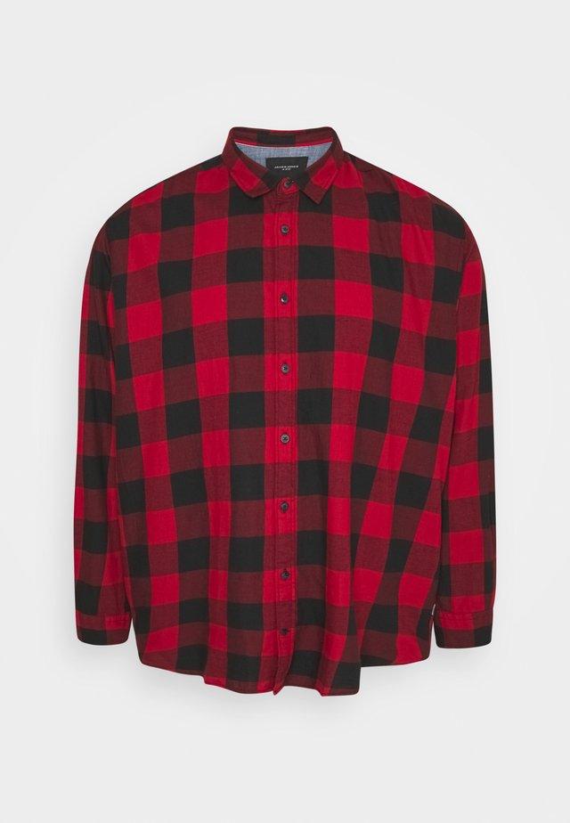JJEGINGHAM - Overhemd - brick red