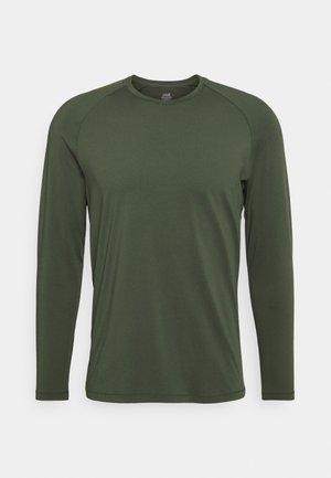 Långärmad tröja - northern green