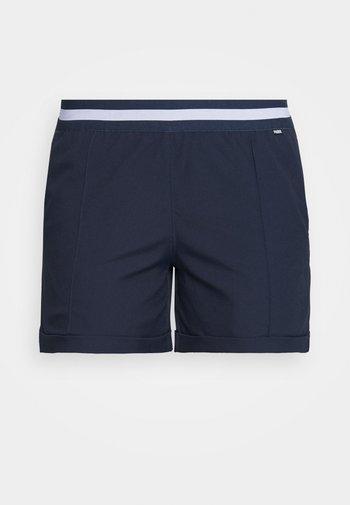 ELASTIC SHORT - Sports shorts - navy blazer