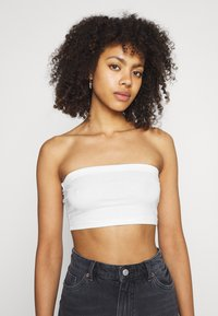 Missguided - BANDEAU TOP 2 PACK - Bustino - black/white - 3