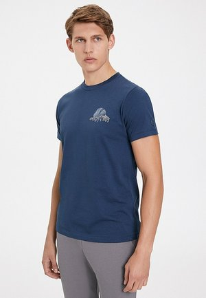 NORTHERN LIGHT - T-shirt imprimé - dress blues