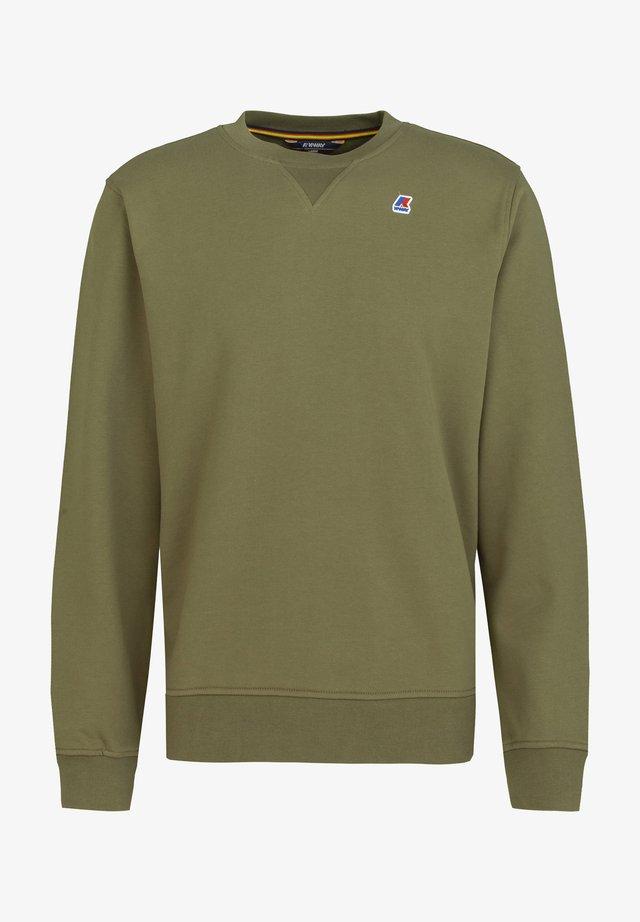 Sweatshirt - green dark olive