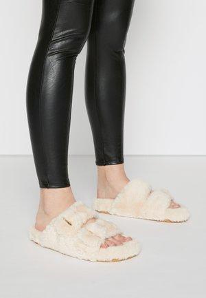 AROUND - Slippers - ivory