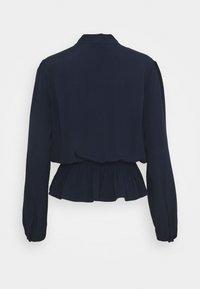 Marks & Spencer London - PLAIN PEPLUM - Bluser - dark blue - 1