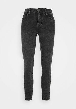 ONLRAIN ACID WASH - Jeans Skinny Fit - black