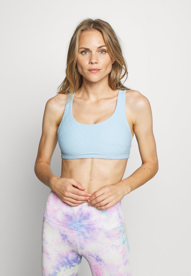 SELENITE MUDRA BRA - Sports bra - powder blue