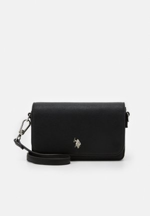 JONES FLAP BAG - Torba na ramię - black