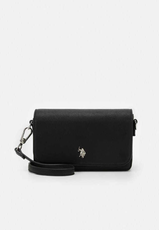 JONES FLAP BAG - Skulderveske - black