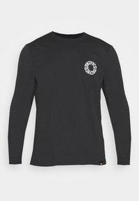 GLOBE TEE  - Long sleeved top - black