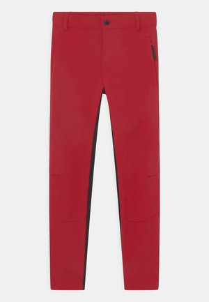 KAHALUU JR UNISEX - Outdoorové kalhoty - burgundy