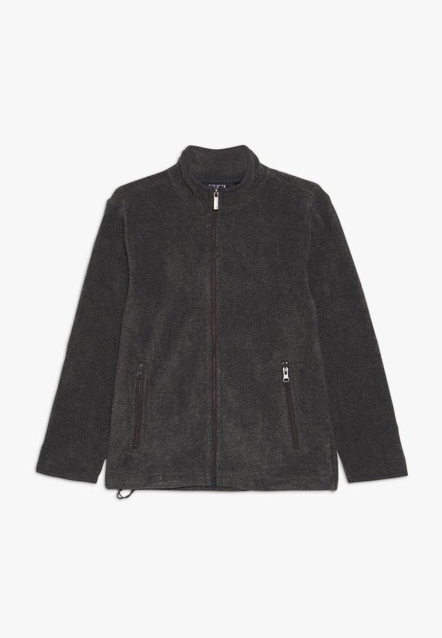 STEHKRAGEN - Fleece jacket - anthrazit