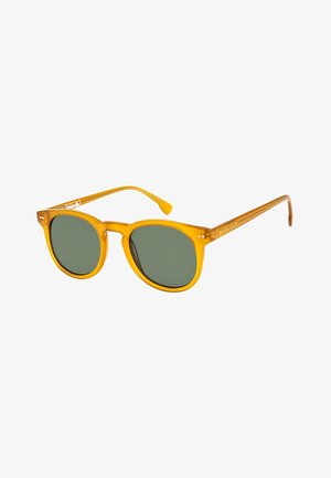 JERICHO  - Sunglasses - shiny crystal caramel/green