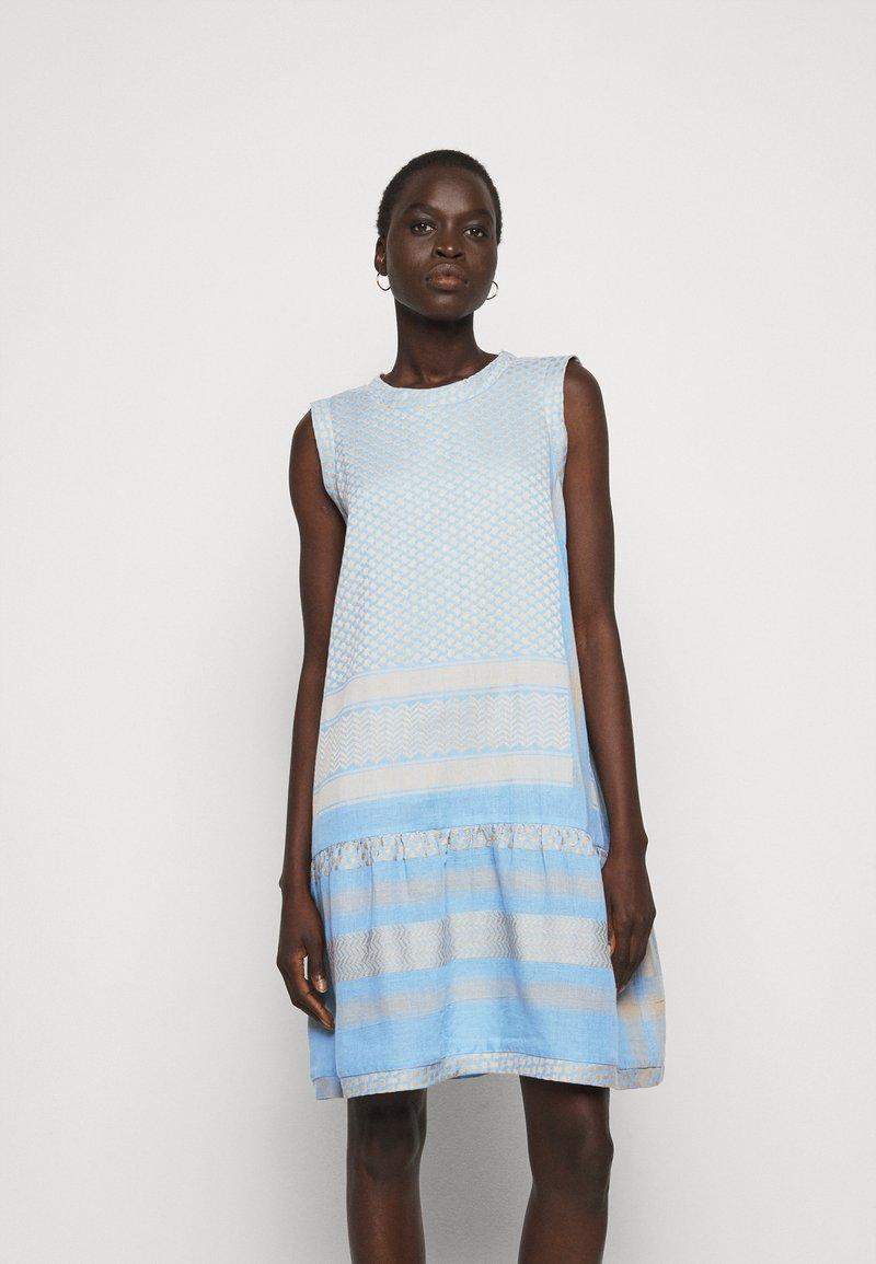 CECILIE copenhagen - DRESS  - Denní šaty - blue