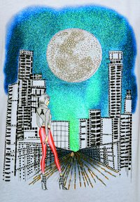 Patrizia Pepe - MAGLIA - Print T-shirt - bianco - 6