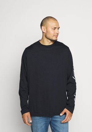 SIGNATURE SLEEVE TEE - Langærmede T-shirts - blue