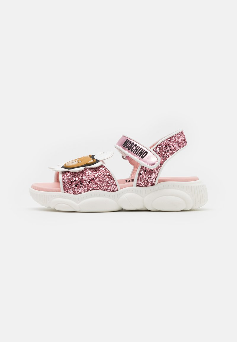 MOSCHINO - Sandals - light pink