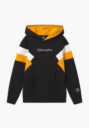 ROCHESTER CHAMPION LOGO HOODED - Bluza z kapturem - black