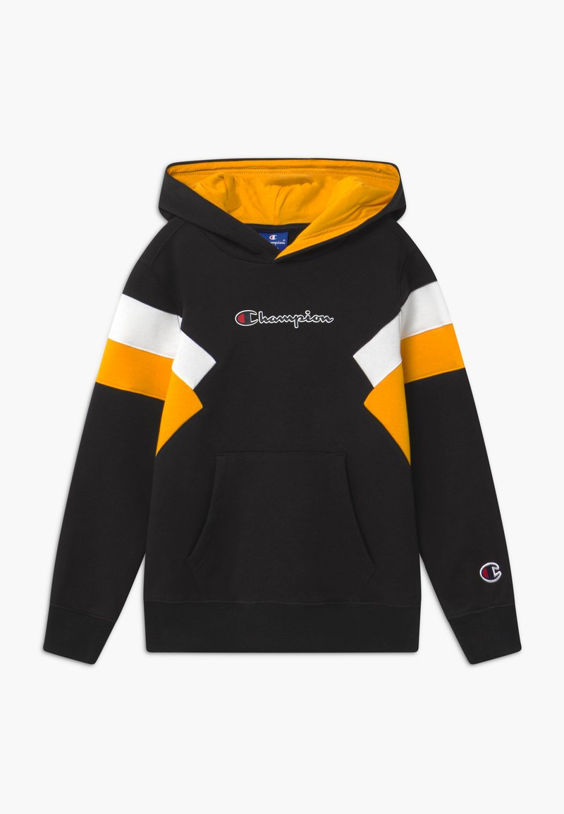 Champion - ROCHESTER CHAMPION LOGO HOODED - Hoodie - black