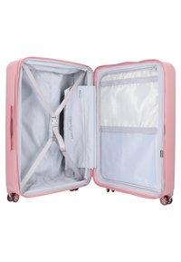 Hedgren - EDGE CARVE - Wheeled suitcase - blush - 4