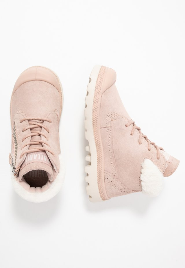 MOSCOW LITE - Lace-up ankle boots - rose dust