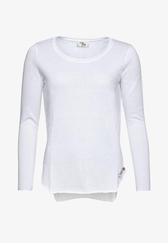 AVA - Long sleeved top - white