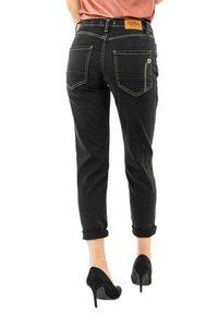 PLEASE - Slim fit jeans - noir - 2