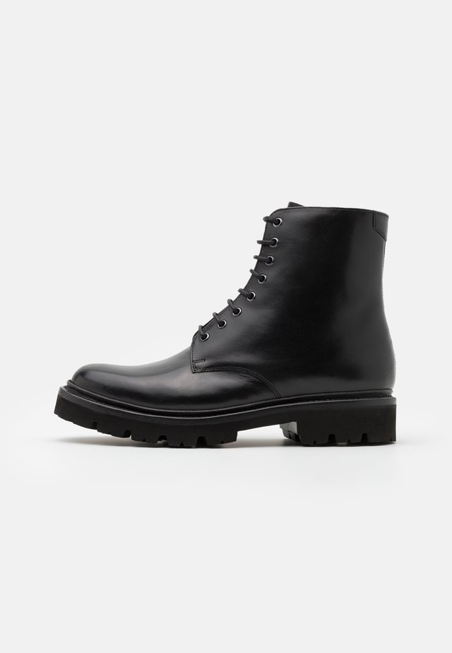 HADLEY - Lace-up ankle boots - black