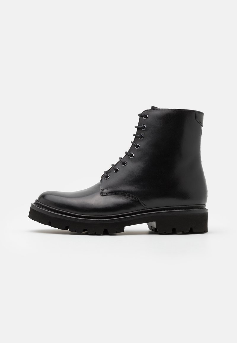 Grenson - HADLEY - Lace-up ankle boots - black