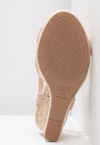 New Look Wide Fit - WIDE FIT POTTER - High heeled sandals - oatmeal - 6