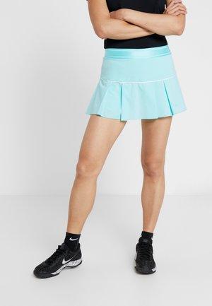 VICTORY SKIRT - Sportovní sukně - light aqua/white