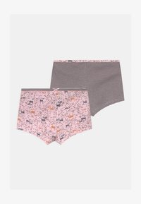 Esprit - HANNIE HIPSTER 2 PACK - Pants - light pink - 0