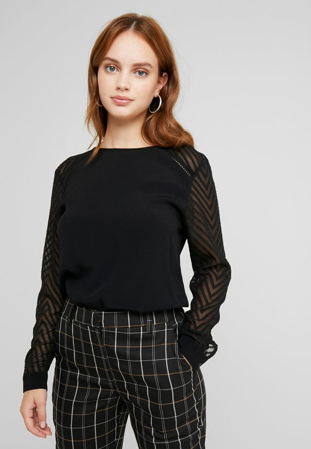 OBJZOE TOP PETIT - Bluse - black