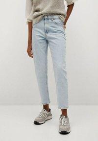 Mango - NEWMOM - Jeans a sigaretta - bleach blauw - 0