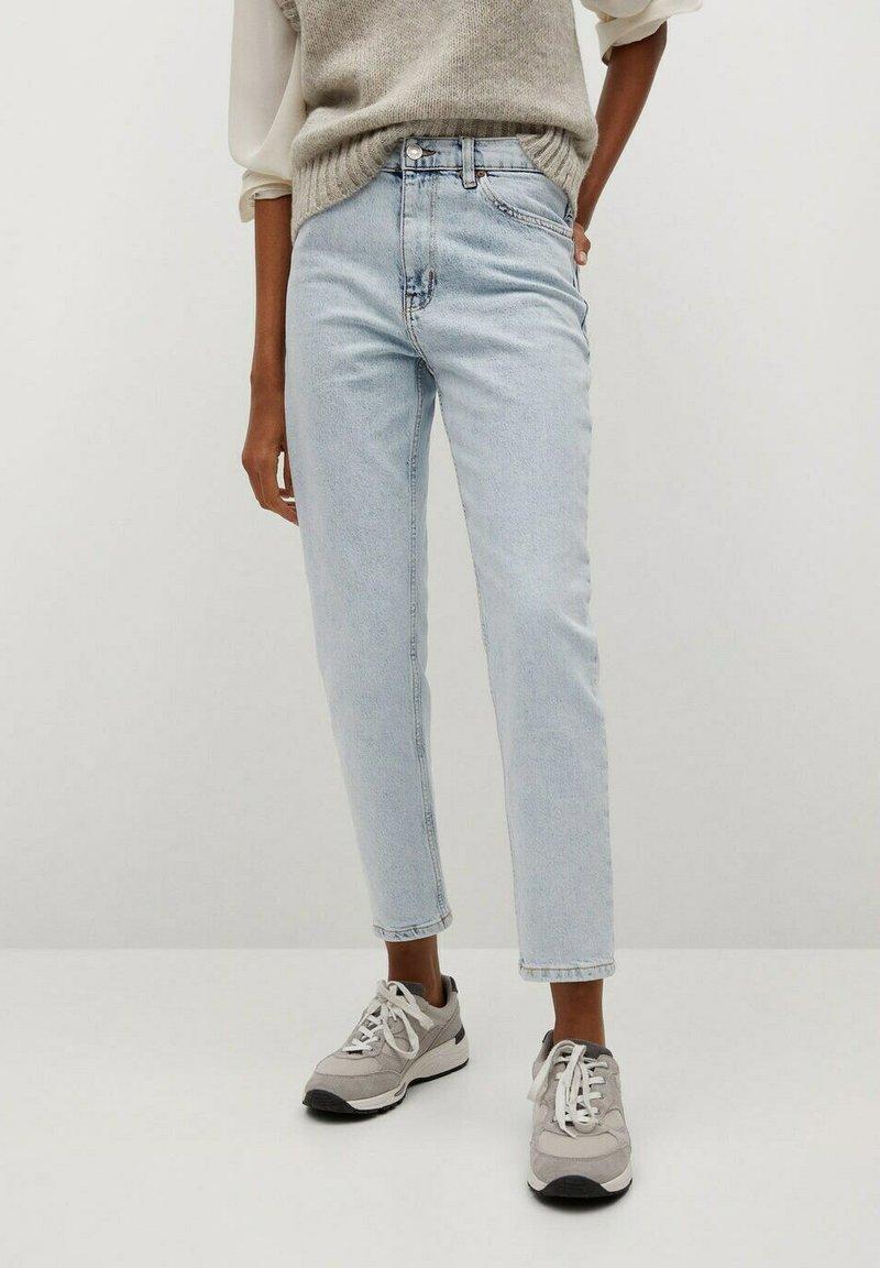 Mango - NEWMOM - Jeans a sigaretta - bleach blauw