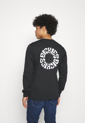 GLOBE TEE  - Long sleeved top - black