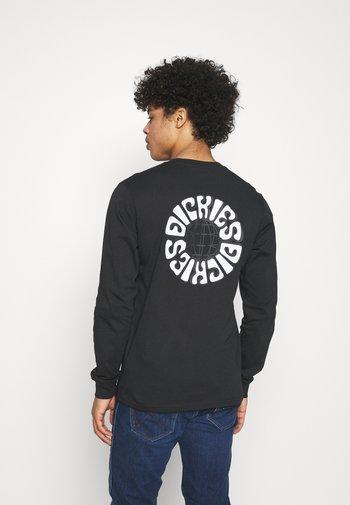 GLOBE TEE  - Pitkähihainen paita - black