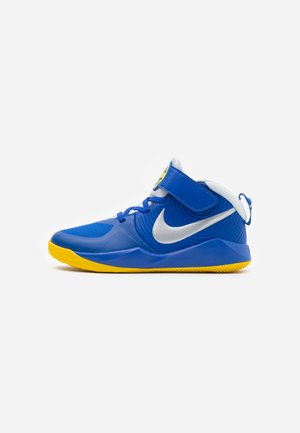 TEAM HUSTLE 9 UNISEX  - Basketball shoes - game royal/metallic silver/photon dust