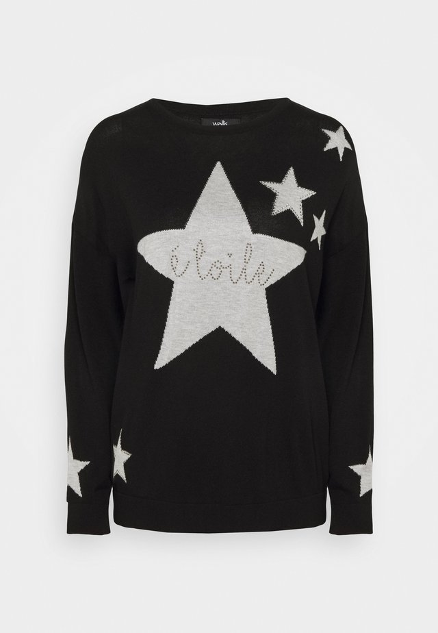 ETIOLE STAR SWEATER - Jumper - black