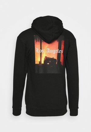 LA HOOD - Bluza z kapturem - black