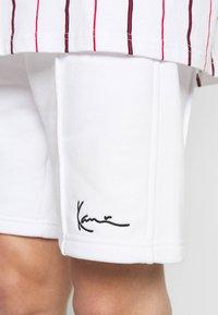 Karl Kani - SMALL SIGNATURE - Short - white - 5