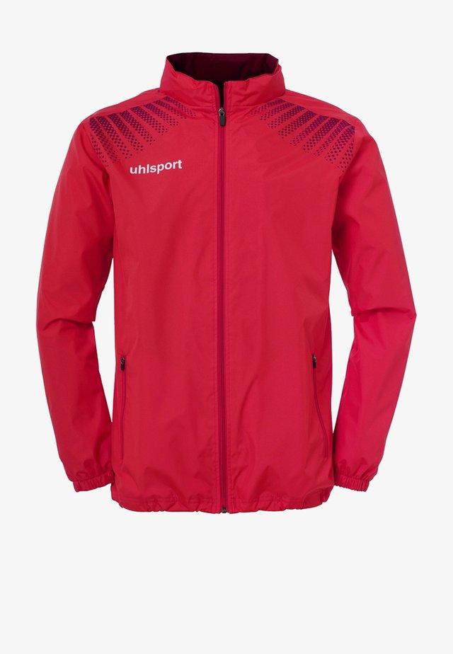 Waterproof jacket - rot / bordeaux