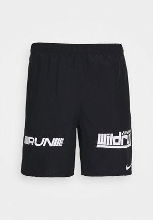 Sports shorts - black/white/silver
