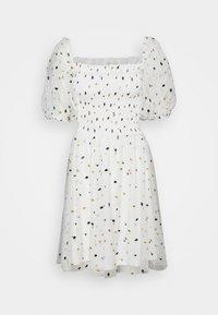 Lace & Beads - CALI DRESS - Koktejlové šaty/ šaty na párty - white - 3