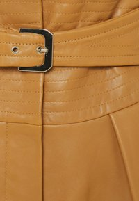 Alberta Ferretti - PIECES SKIRT - Leather skirt - brown - 2