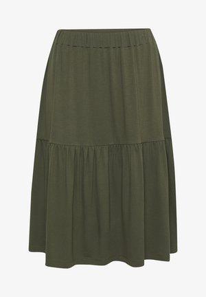 BPJILLA  - A-line skirt - grape leaf