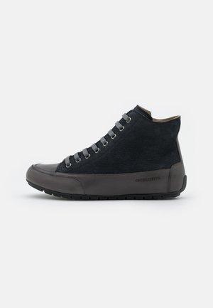 PLUS - Sneakers hoog - antracite/blu notte